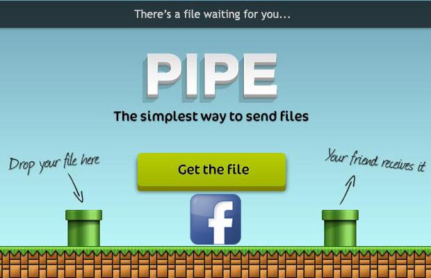 Pipe app Facebook