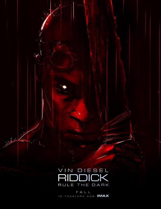 Riddick Comic-Con Poster 2013