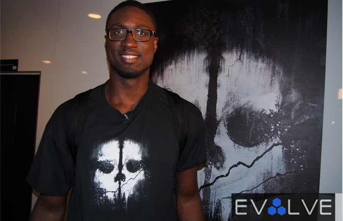 Roy Hibbert Call of Duty Ghosts E3 2013
