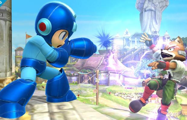 Super Smash Bros 4 Mega Man Super Mari