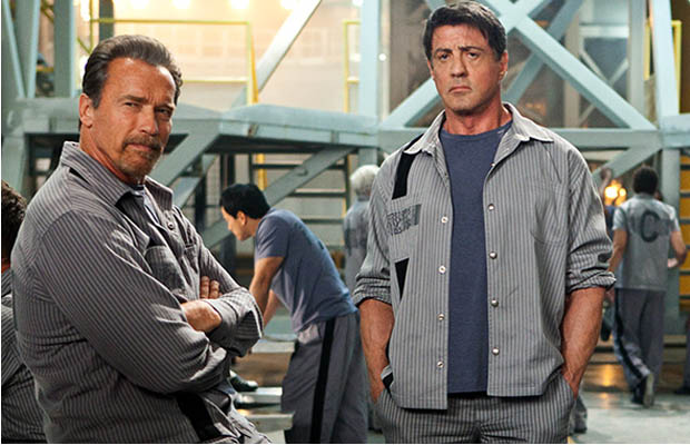 The Escape Plan Arnold Schwarzenegger and Sylvester Stallone