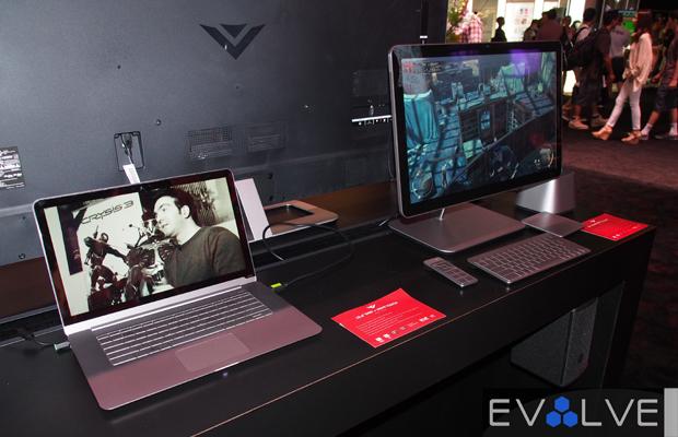 Vizio all-in-one Touch desktop e3 2013