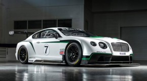 2014 Bentley Continental GT3 Unveiled