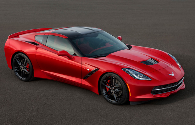 2015 Covervette Stingray Detroit Auto Show