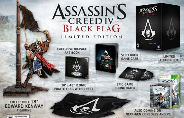 Assassins Creed IV Black Flag Limited Edition
