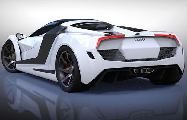 Audi R10 Concept angle