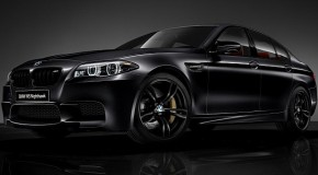 BMW Announces M5 Nighthawk Special Edition for Japan Only