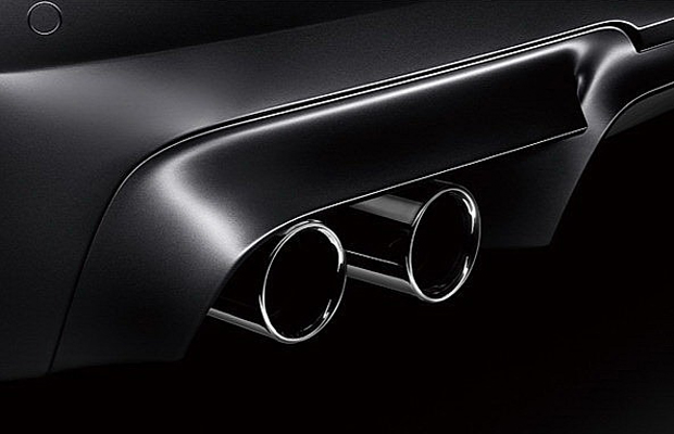 BMW M5 Nighthawk exhaust pipe