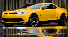 Bumblebee Gets Nice Tuneup with New Camaro Concept in 'Transformers 4'