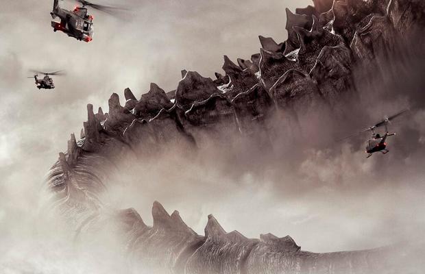 Godzilla    Teaser Poster Tails Its Way into Comic-Con 2013Godzilla 2014 Poster Comic Con