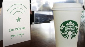 Starbucks Ditches AT&T and Welcomes Google Wi-Fi