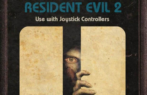 Resident Evil 2 Atari 2600