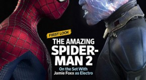 'Amazing Spider-Man 2' Spidey vs. Electro Graces EW's Comic-Con Issue