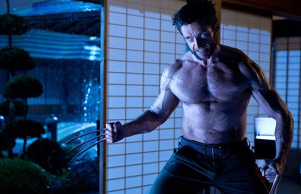 The Wolverine Train Scene