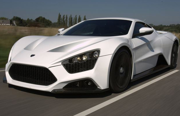 Zenvo ST1 Supercar Speed Through Monza Track  Video Zenvo St1 Supercar