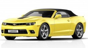 2014 Chevrolet Camaro Convertible Unveiled Ahead of Frankfurt Motor Show