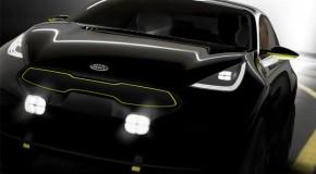 Kia Teases New Hatchback Ahead of Frankfurt Motor Show