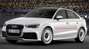 Audi RS3 Sedan Concept Surfaces Online