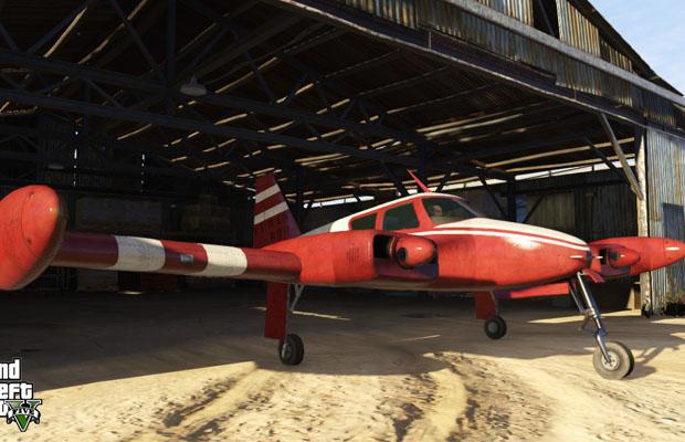 GTA V Airplane