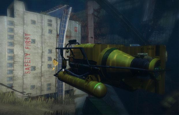 GTA V Submarine