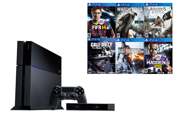 PS4 Games 2013