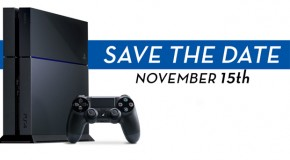 Sony Announces PS4 Release Date and Launch Lineup