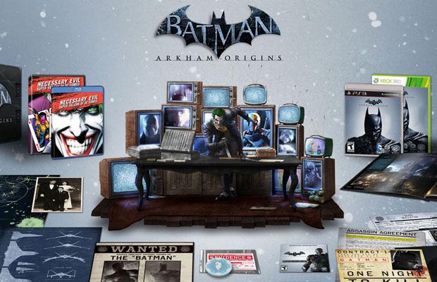 atman Arkham Origins collectors edition