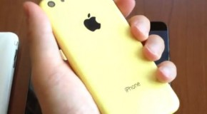 New Video Leak Shows Back of iPhone 5C
