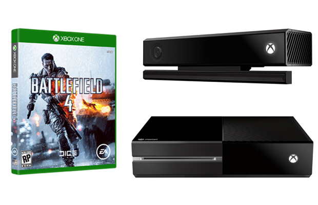 Battlefield 4 Xbox One Kinect
