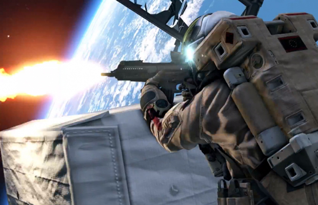 COD Ghosts Space Trailer