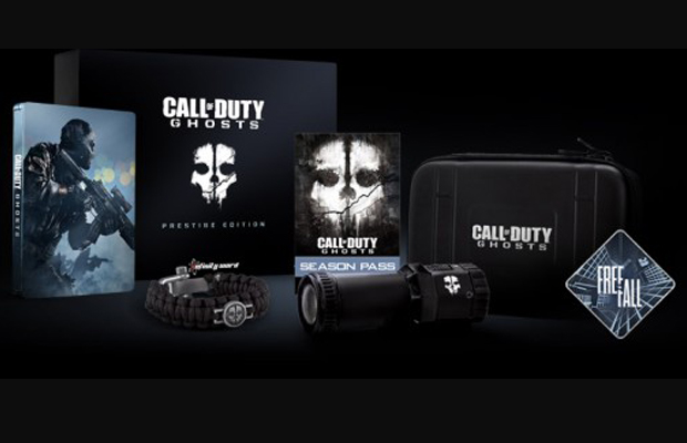 Call of Duty Ghosts prestige edition