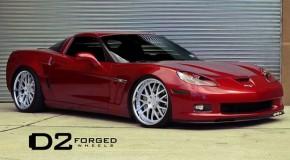 D2 Forged Wheels Customizes Corvette Grand Sport