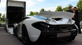 Pearl White McLaren P1 Speeds Its Way to China