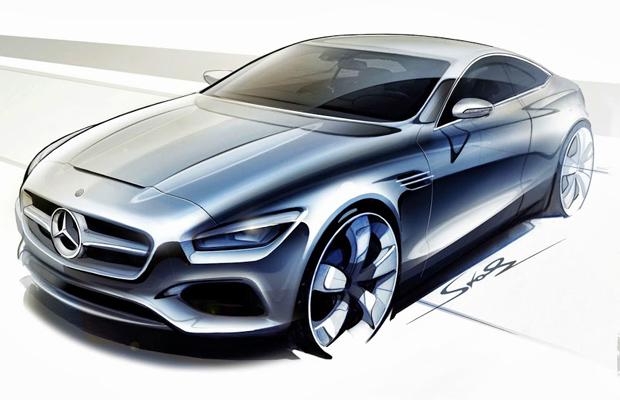 Mercedes-Benz Concept S Class Frankfurt Motor Show