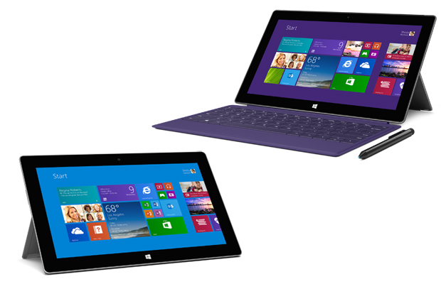 Microsoft Surface and Surface Pro 2