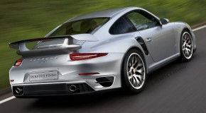 Porsche 911 GT2 Rendering Surfaces