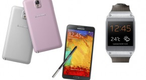 Samsung Makes Galaxy Note 3 and Galaxy Gear Smartwatch Official