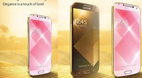 Samsung Announces Two Galaxy S4 Gold Models