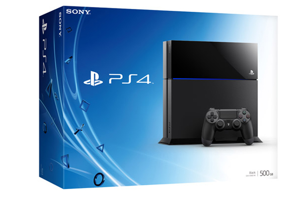 Sony PS4 Packaging