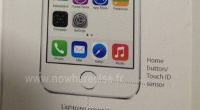 Leaked iPhone 5S Manual Highlights Fingerprint Scanning Home Button