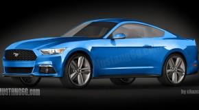 2015 Ford Mustang Renderings Surface