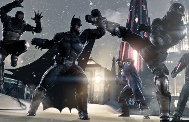 Batman Arkham Origins Intro