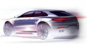 Porsche Macan Design Sketchs Reveals Exterior Upgrades