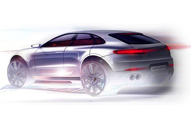 Porsche Mecan 2014 concept
