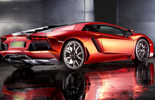Print Tech Lamborghini Aventador Orange