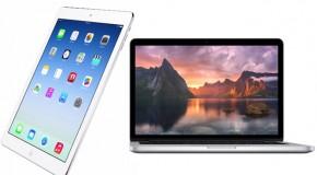 Apple Announces New iPad Air and Retina MacBook Pro