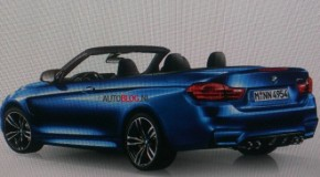 2014 BMW M4 Convertible Rendering Supposedly Leaked