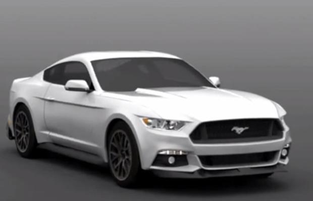 2014 Ford Mustang Rendering