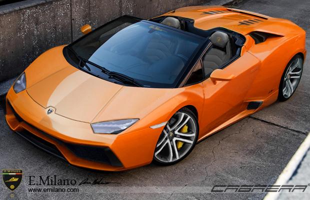 2015 Lamborghini Cabrera Spyder Orange
