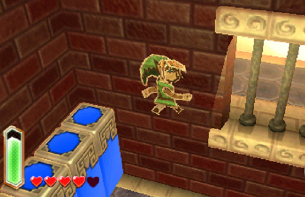 A Link Beetween Worlds Wall Merge